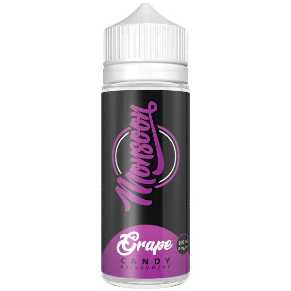 Monsoon GRAPE CANDY 100ml OVERDOSED - E-Liquid made in Germany 00 mg (nikotinfrei)